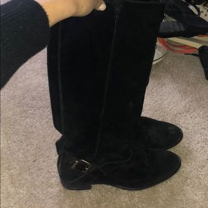 J crew suede leather boots
